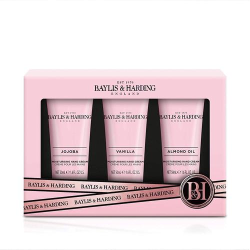 Baylis and Harding Jojoba Vanilla and Almond Oil Hand Treats Set