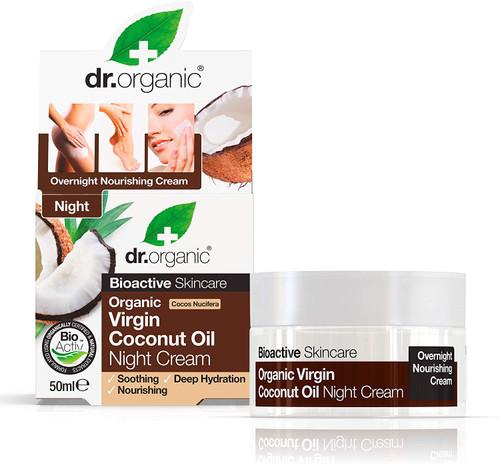DR ORGANIC Virgin Coconut Oil Night Cream-0.174989kg