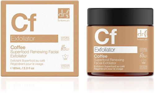 Dr Botanicals Superfood Coffee Walnut Facial Exfoliator-60ml