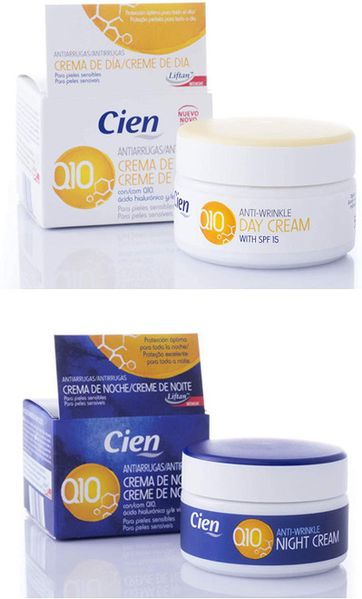 Cien Anti-Wrinkle DAY and NIGHT CREAM Set-2 x 50 ml