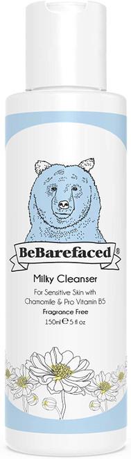 BeBarefaced Natural Milky Cleanser Face Wash