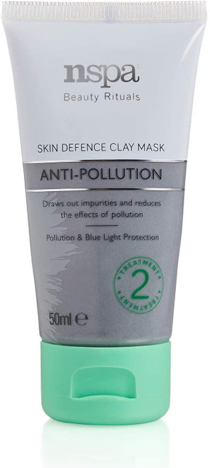 N-Spa NSPA Beauty Rituals Anti-Pollution Skin Defence Clay Mask-50 ml