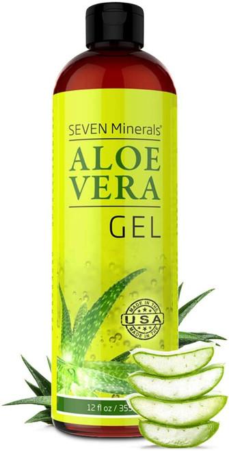 Organic Aloe Vera Gel with 100% Pure Aloe-355ml