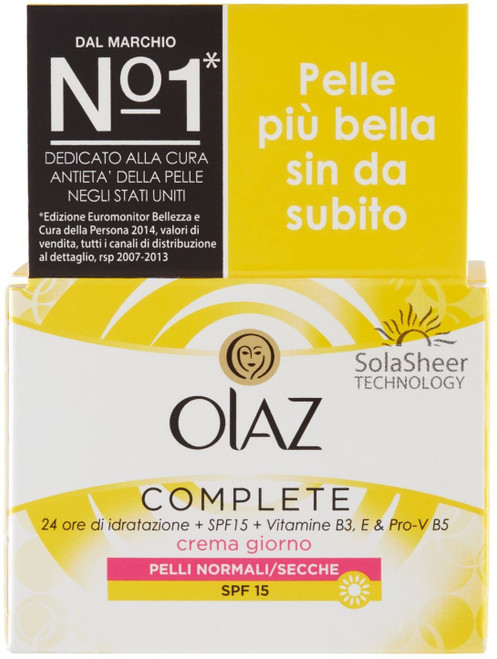 OLAY Complete 3-In-1 Cream With Spf15