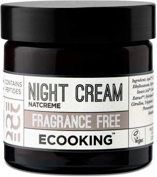 Ecooking Night Cream Fragrance Free-50ml