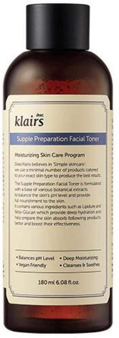 Klairs Supple Preparation Facial Toner-180 ml