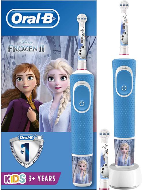 Oral-B Super Soft Bristles Disney Frozen Kids Electric Toothbrush