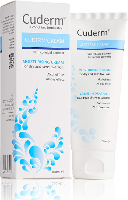 Cuderm Dry and Sensitive Skin Moisturising Cream - 100ml