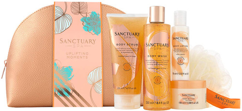 Sanctuary Spa Uplifting Moments Luxurious Top to Toe Gift Set for Her