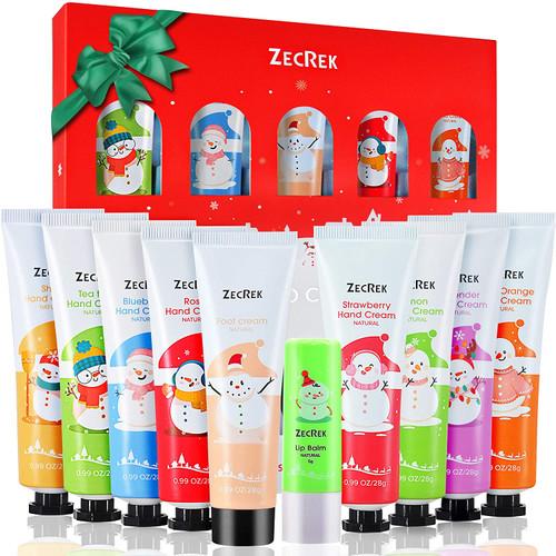 Hand Cream Gift Set for Lips Balm&Foot Creams-10 Packs