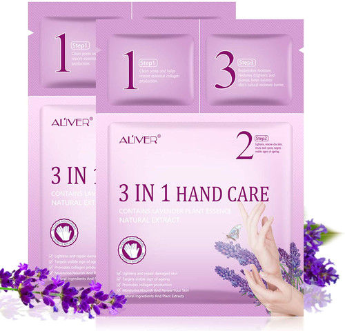 2 Pairs 3 IN 1 Hand Care Mask