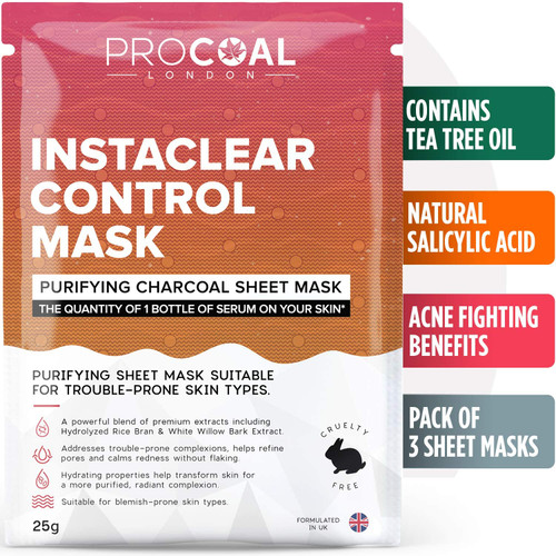 Sheet Mask Instaclear Control Sheet Mask By PROCOAL