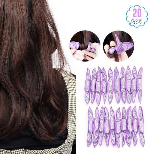 Flexible Foam Sponge Hair Rollers-20pcs
