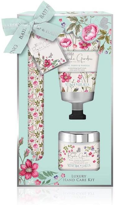 Baylis & Harding Royale Garden Rose Poppy & Vanilla Manicure Set