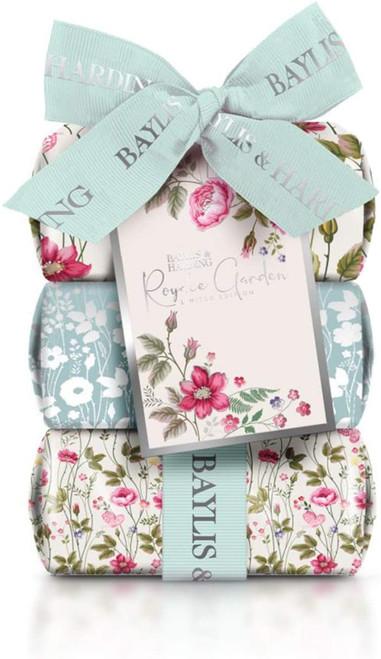 Baylis & Harding Royale Garden Rose Poppy & Vanilla 3 Soap Gift