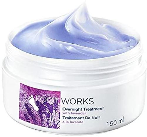 4 x Avon Foot Works Beautiful Overnight Cream x4 -150ml