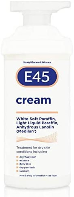 E45 Cream for Dry and Condition Skin-500g