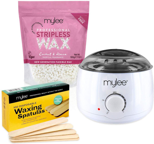 Mylee Professional Stripless Wax Heater with Wax Beans - Coconut & Arnica Wax