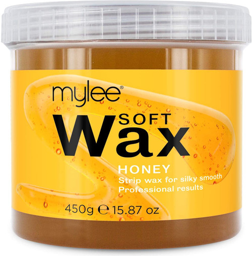 Mylee Sensitive Skin Honey Soft Creme Wax for Silky Smooth Skin - 450g