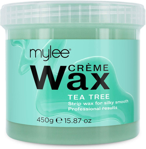 Mylee Sensitive Skin Tea Tree Soft Creme Wax for Silky Smooth Skin - 450g