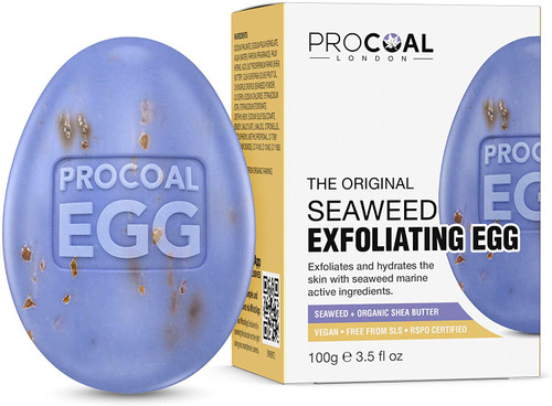Seaweed Egg Exfoliating Natural Soap by Procoal