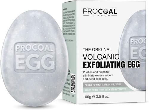 Volcanic Egg Exfoliating Natural Soap-100g