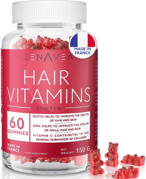 60 Gummies for Hair Skin And Nails