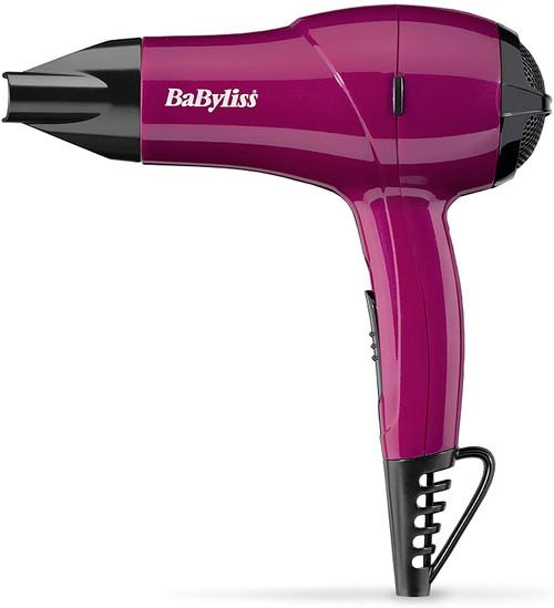 BaByliss Lightweight 1200 W Nano Travel Dryer - Pink