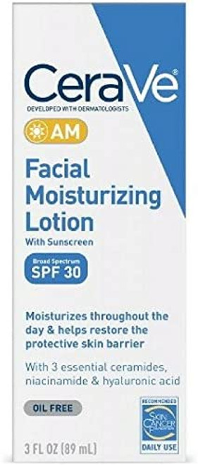 CeraVe Day Time Facial Moisturizing Lotion AM - 89ml