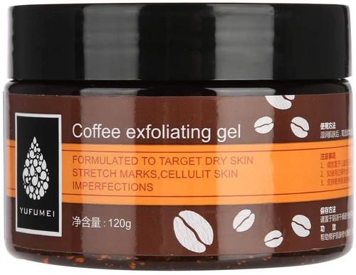 Coffee Exfoliating Scrub Cream Face Hand Feet-120 g