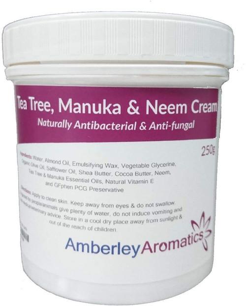 Tea Tree Manuka & Neem Cream-250g