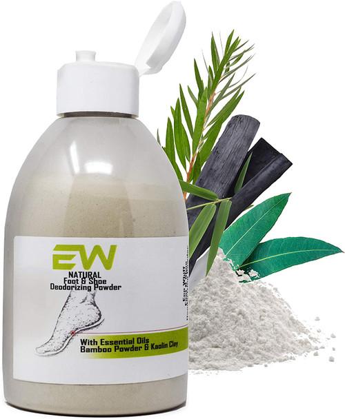 Foot & Shoe Powder Odour Eliminator & Smelly feet Treatment-330g