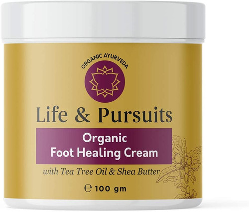 Life & Pursuits Foot Cream for Dry Cracked Feet-100g