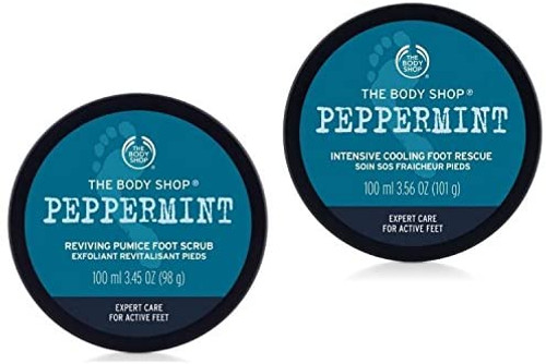 The Body Shop Peppermin Foot Scrub and Foot Cream-Foot-100ml