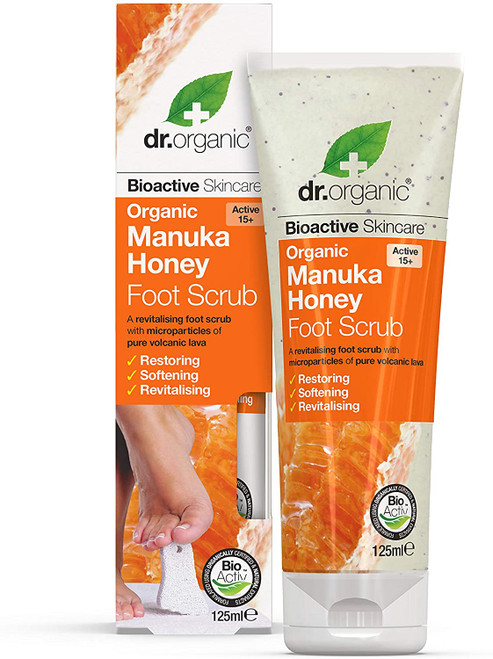 Dr. Organic Manuka Honey Foot Scrub-125 ml