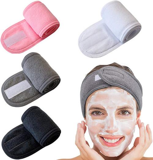 Elehui Spa Facial And Makeup Headband-4Pcs