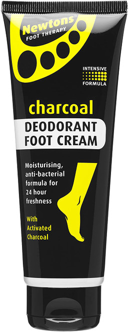 Newtons Foot Therapy Charcoal Deodorant Foot Cream-100 ml