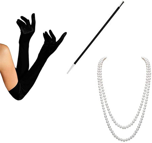 1920s Accessories Set for Women