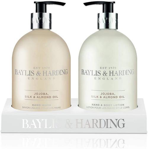 Baylis & Harding Jojoba Vanilla and Almond Oil Hydrating Hand Wash and Lotion Set
