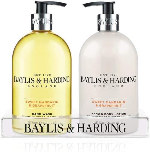 Baylis & Harding Mandarin and Grapefruit Hydrating Hand Wash and Lotion Set