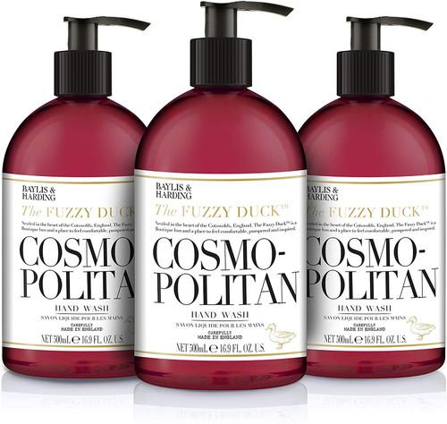 Baylis & Harding Cosmopolitan Premium Fragrance Hand Wash - Pack of 3