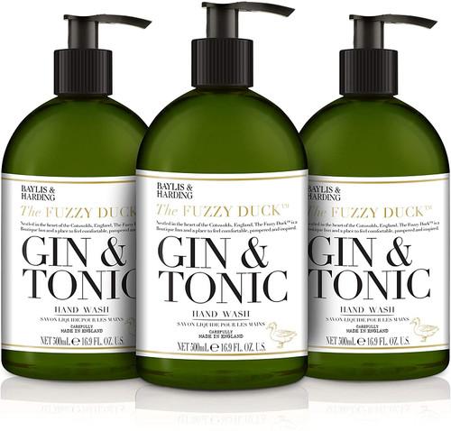 Baylis & Harding Gin and Tonic Premium Fragrance Hand Wash - Pack of 3