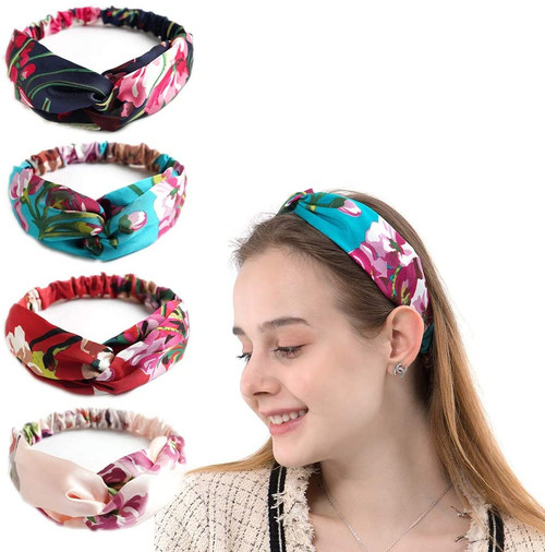 Bandana Boho Hairbands 4 Pack