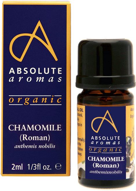 Absolute Aromas Undiluted Organic Chamomile Essential Oil - 2ml