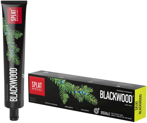 SPLAT Blackwood Charcoal Powerful Whitening Toothpaste - 75 ml