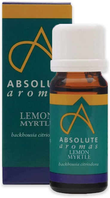 Absolute Aromas Mood Booster Lemon Myrtle Aromatherapy Essential Oil - 10ml