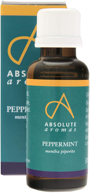 Absolute Aromas Minty Peppermint Aromatherapy Essential Oil - 30ml