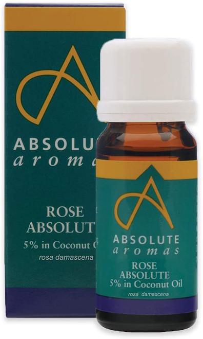 Absolute Aromas Moisturising Rose Aromatherapy Essential Oil - 10ml