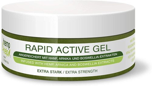 Active Hemp Muscle and Joint Fast Pain Relief Gel - 200ml