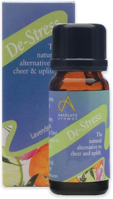 Absolute Aromas De-Stress Mood Cheer Essential Oil Blend - 10ml